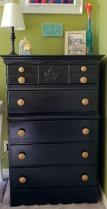 dresser after